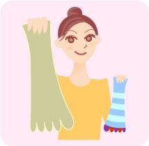 「5本指靴下」で強いポンプ作用
